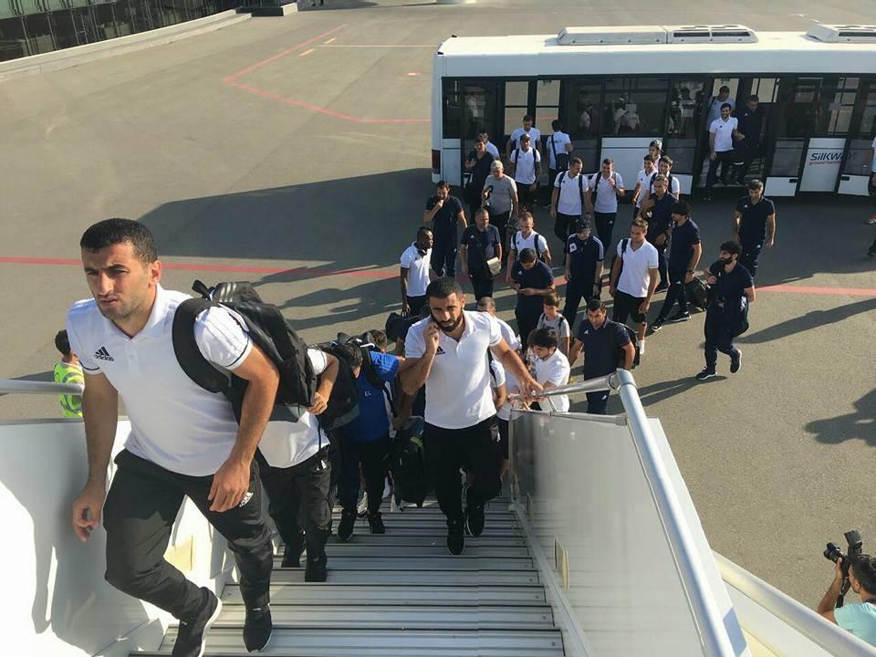 """""""Qarabağ"""" Danimarkaya getdi (Fotolar)"""