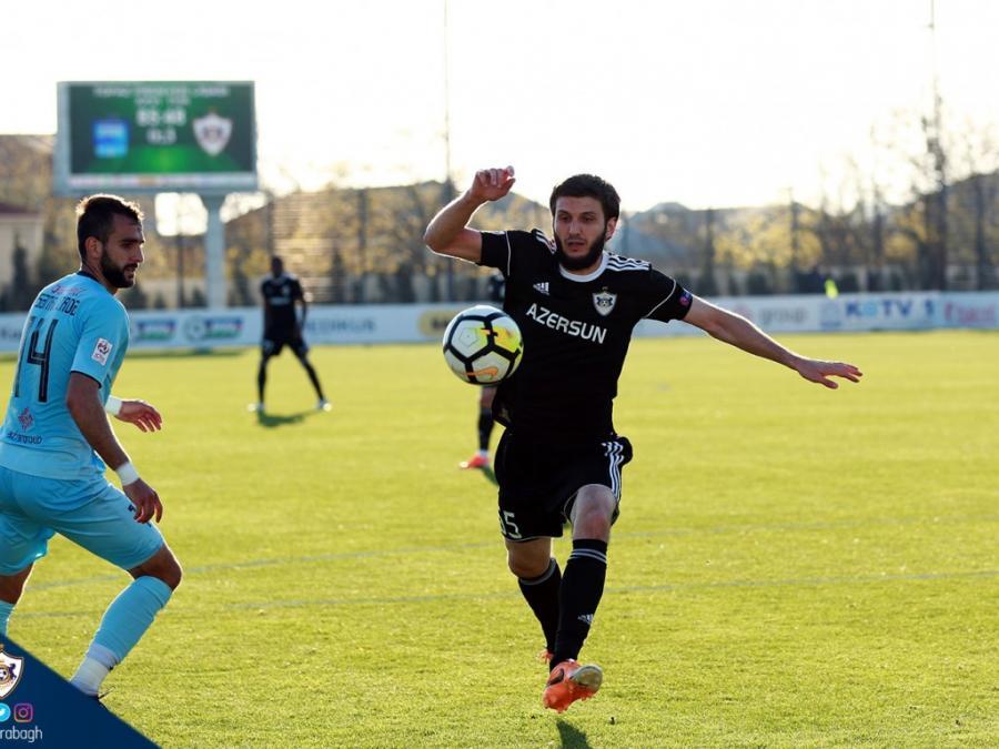 """""""Qarabağ"""" """"Zirə"""" ilə bərabərə qaldı"""