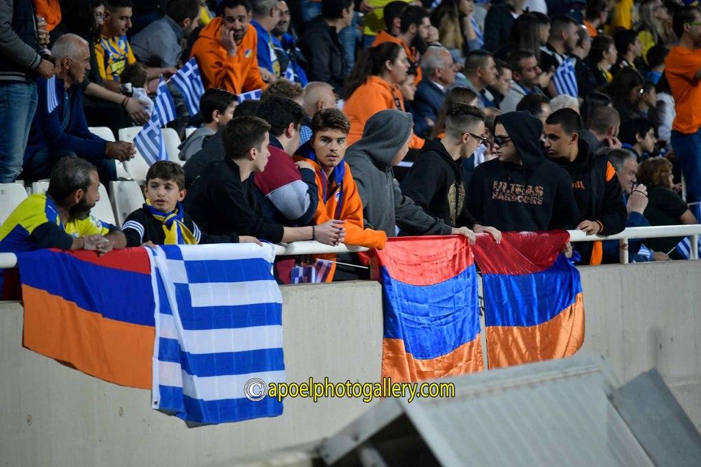 """APOEL fan-klubundan """"Qarabağ""""a qarşı təxribat - FOTO"""