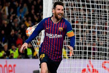 Messi Ronaldoya şərik oldu
