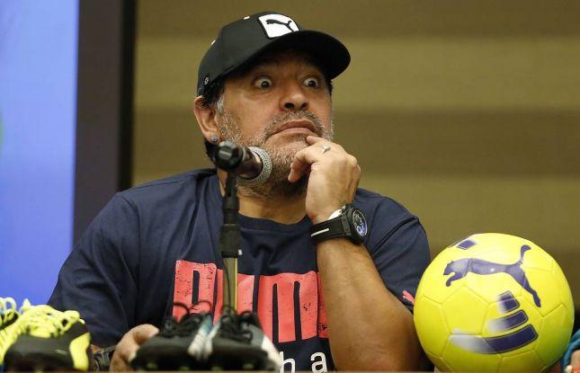 Maradona 2 ay işlədiyi klubdan istefa verir