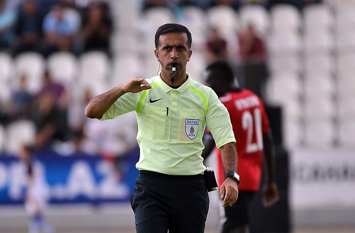 Azərbaycanlı DÇ-də Braziliyanın oyununa təyinat aldı