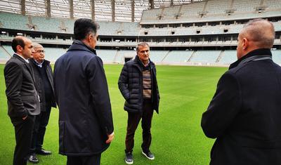 Şenol Günəş Bakı Olimpiya Stadionunda -