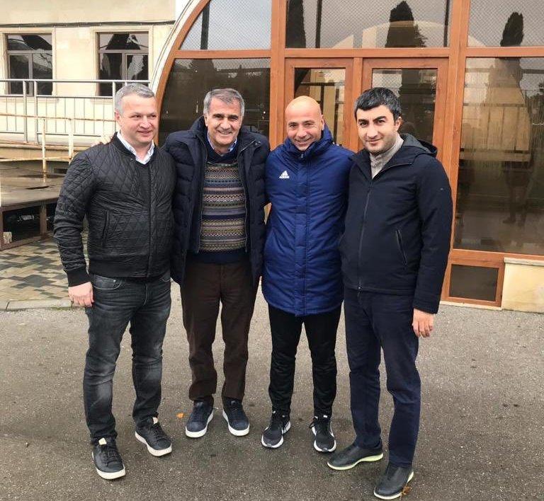 """Şenol Günəş Bakıya gəldi, """"Qarabağ""""ın bazasında oldu - FOTOLAR"""