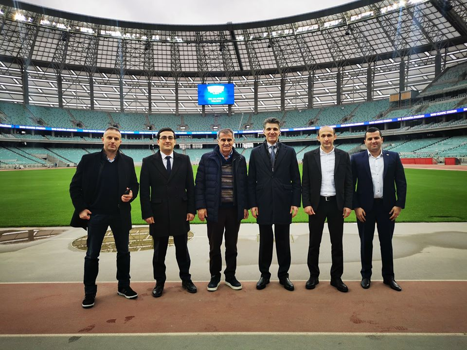 Şenol Günəş Bakı Olimpiya Stadionunda - FOTOLAR