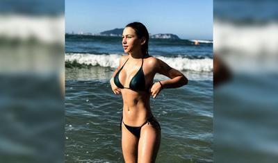 Braziliyalının göz qamaşdıran 19 yaşlı sevgilisi -