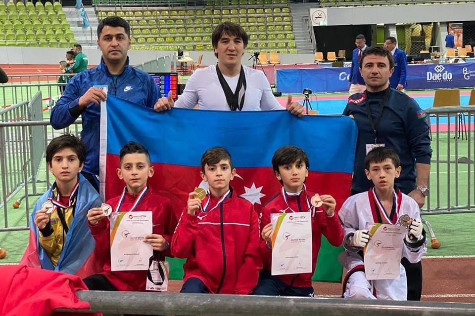 Azərbaycan Almaniyada ilk gündə 5 medal qazandı