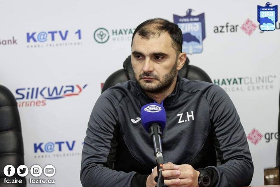 """Həşimov: """"Hakimin gözü qarşısında idi, penalti vermədi"""""""