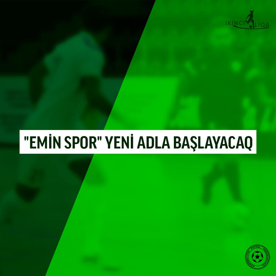 """Azərbaycanda klubun adını dəyişib """"Yurd"""" qoydular"""