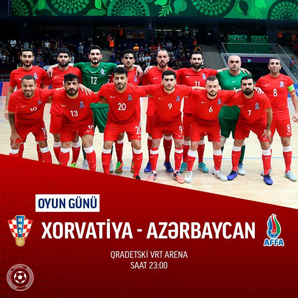 Azərbaycan Xorvatiyaya məğlubiyyətlə başladı - DÇ