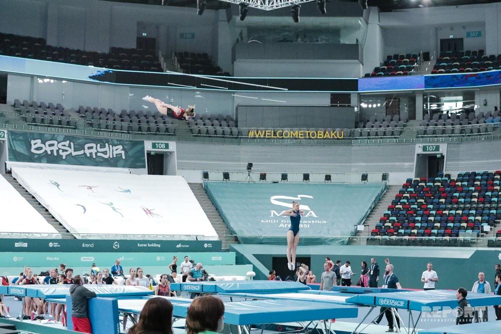 Milli Gimnastika Arenasında MÖHTƏŞƏM HAZIRLIQ!