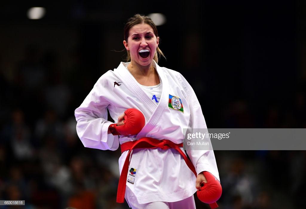 İrina Zaretska medal və olimpiya lisenziyası qazandı