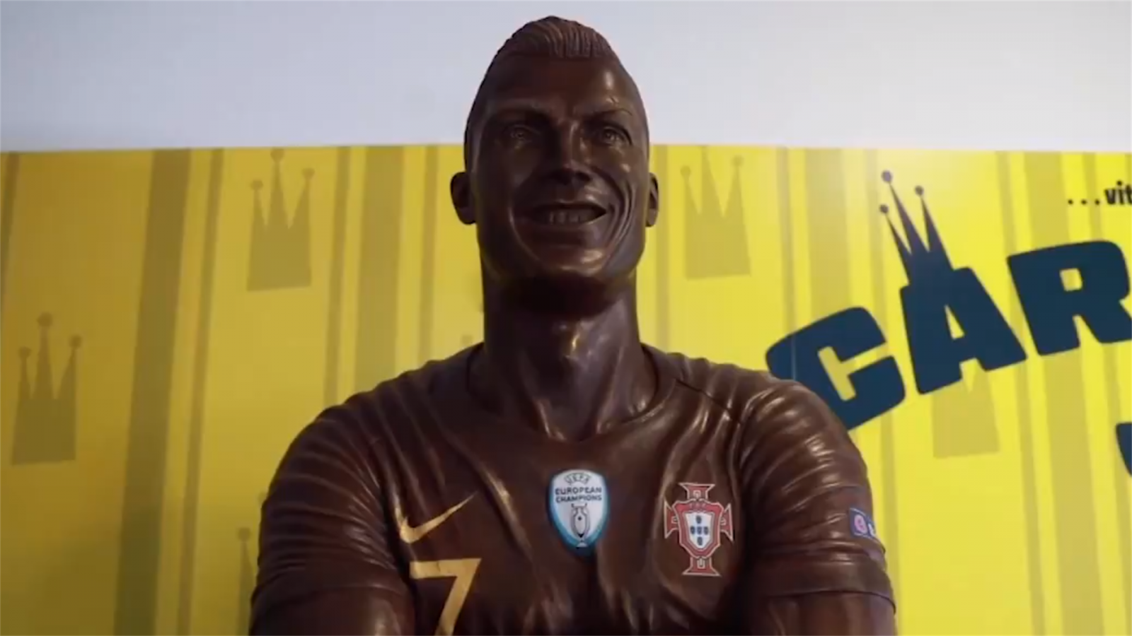 """""""Şokolad Ronaldo"""" – FOTO"""