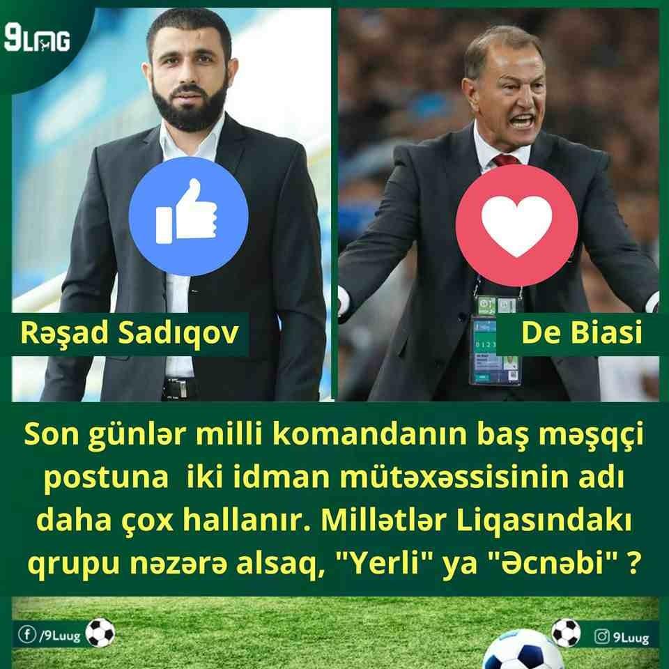 Rəşad Sadıqovun millidə çalışmağını arzulayanlar