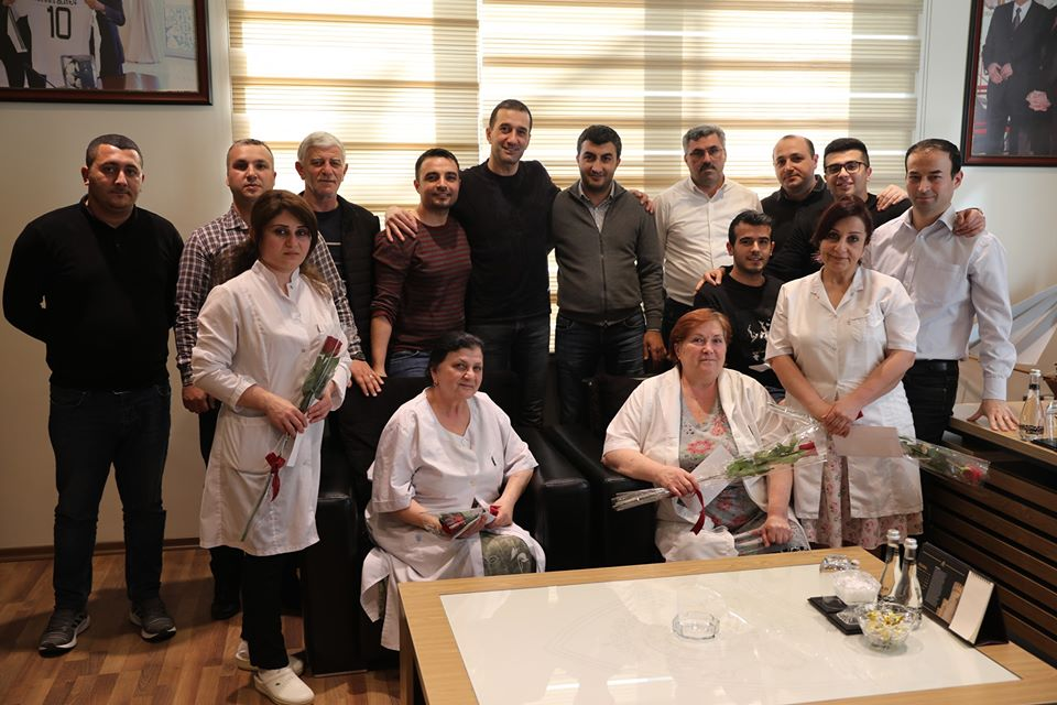 """""""Qarabağ""""dan xanımlara 8 mart diqqəti - FOTO"""