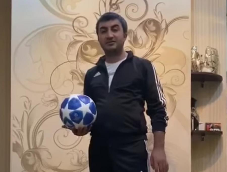 """Elxan Məmmədov """"evdə qal"""" dedi, """"Qarabağ""""dan reaksiya gəldi - VİDEO"""