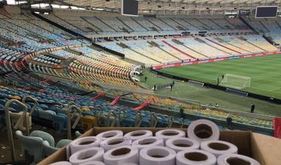 Əfsanəvi stadion hospitala çevrilir-