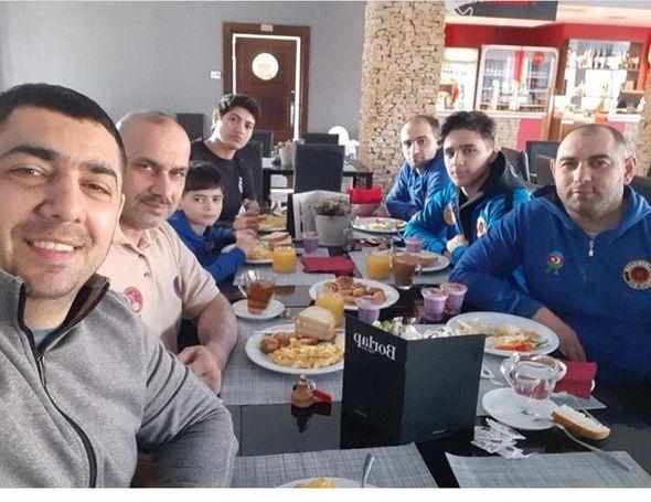 Azərbaycan yığmasının üzvləri karantinı alındı - VİDEO+FOTOLAR