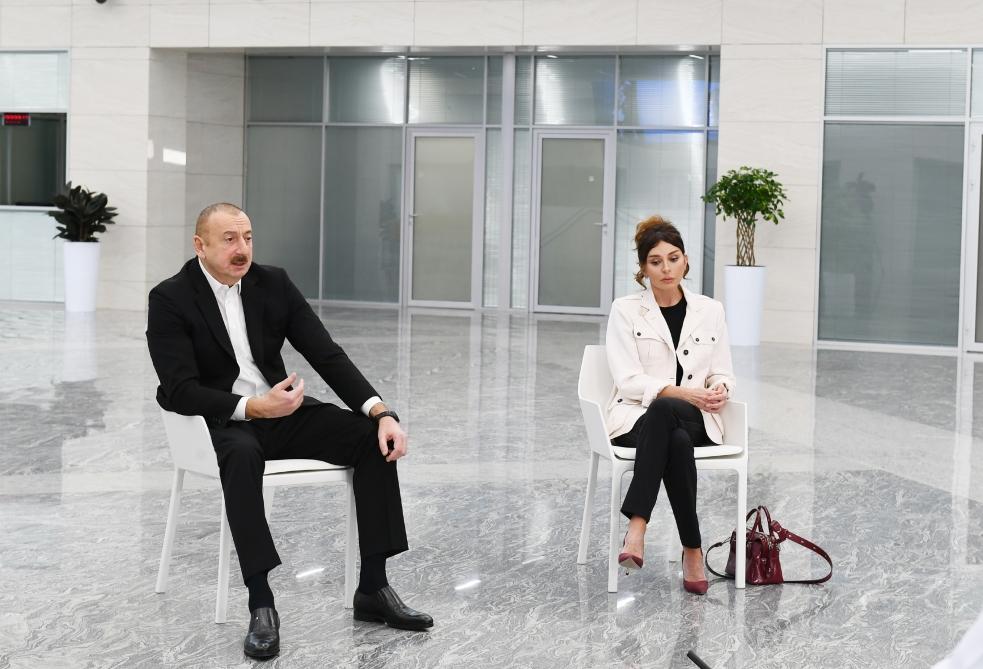 """İlham Əliyev: """"Biri deyir, mənə heç nə olmaz, biri deyir, mən qorxmuram"""" - VİDEO"""