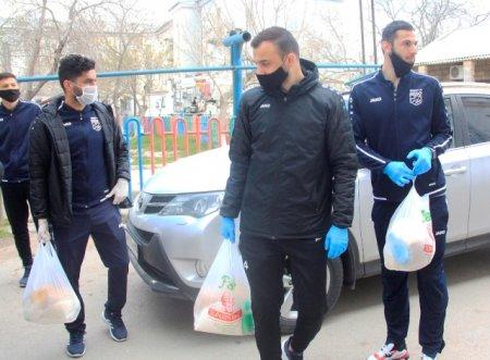 Azərbaycan klubu 40 şəhər sakinini himayəyə götürdü