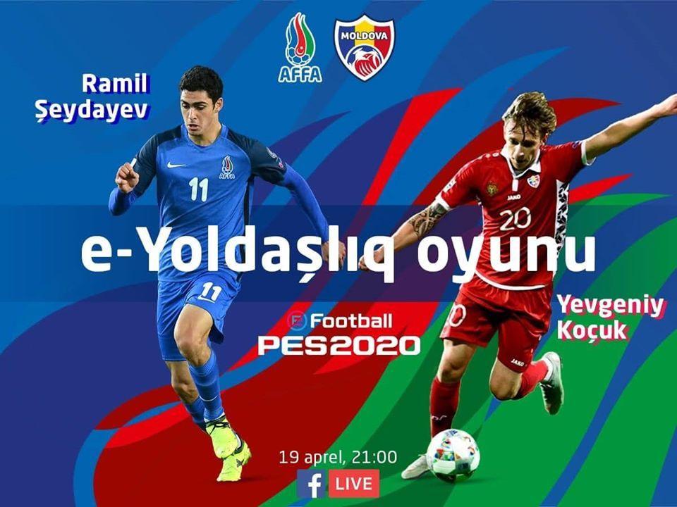 Ramil Şeydayev PES2020-də kiminlə oyun keçirəcək?