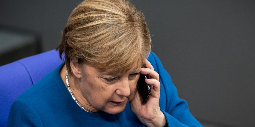 Angela Merkel Bundesliqanın aqibətindən  nə danışdı?