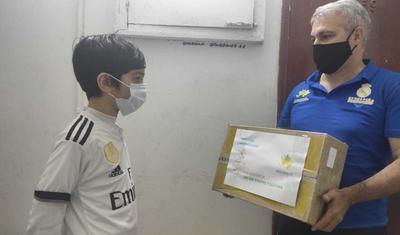 """""""Real Madrid""""dən bakılı məktəblilərə yardım -"""