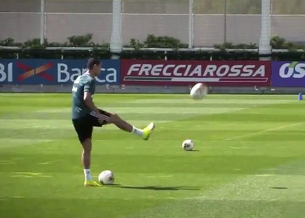 Ronaldodan inanılmaz hərəkət, izləməyi qaçırmayın! - VİDEO