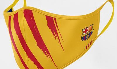 """""""Barselona""""dan yeni biznes: maska satışına başladı -"""