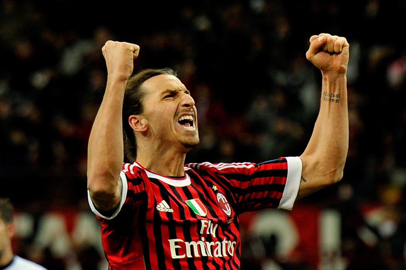 """İbrahimoviç """"Milan""""dan ayrıldı"""