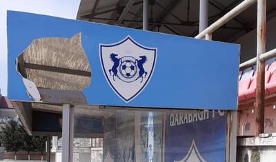 """""""Qarabağ""""sız xarabalığa çevrilən stadion"""
