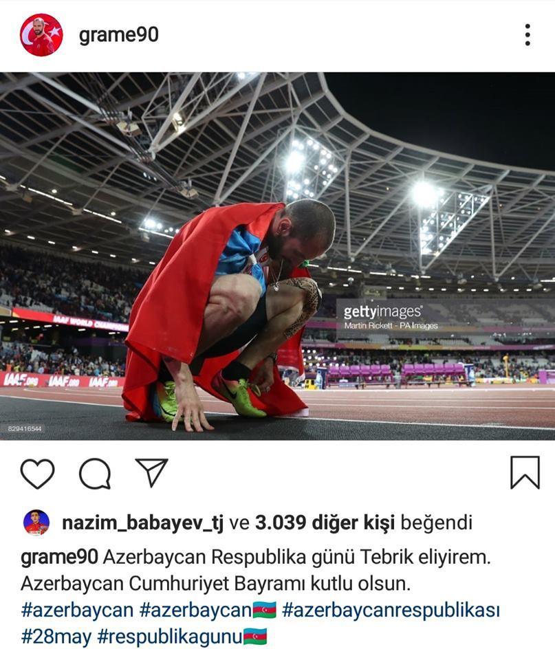 Azərbaycanı Türkiyəyə dəyişdi, paylaşım etdi - FOTO