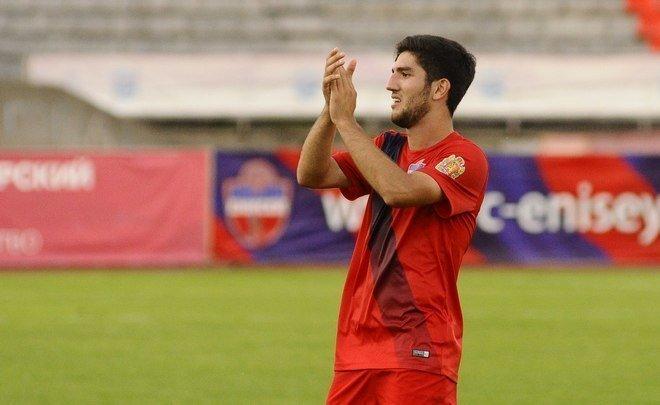 Azərbaycanlı futbolçu  Rusiya klubu ilə müqavilə imzaladı