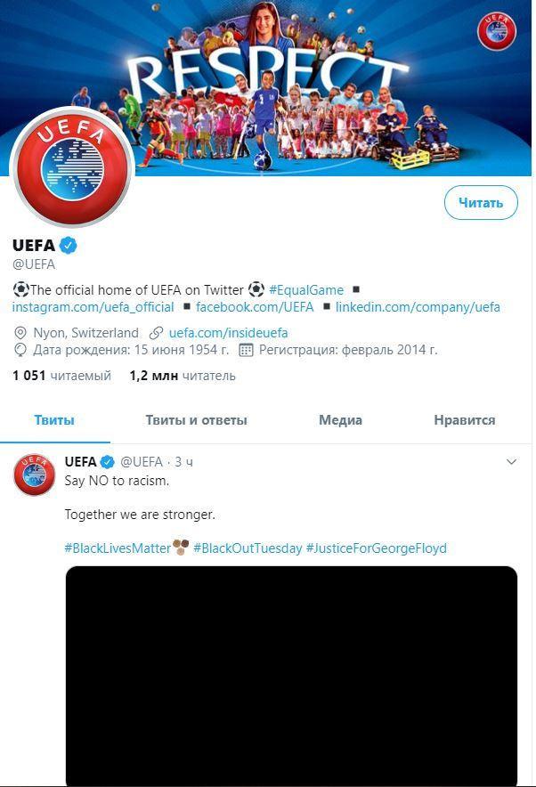 """""""İrqçiliyə yox de"""" - UEFA Corc Floydun ölümünə reaksiya verdi"""
