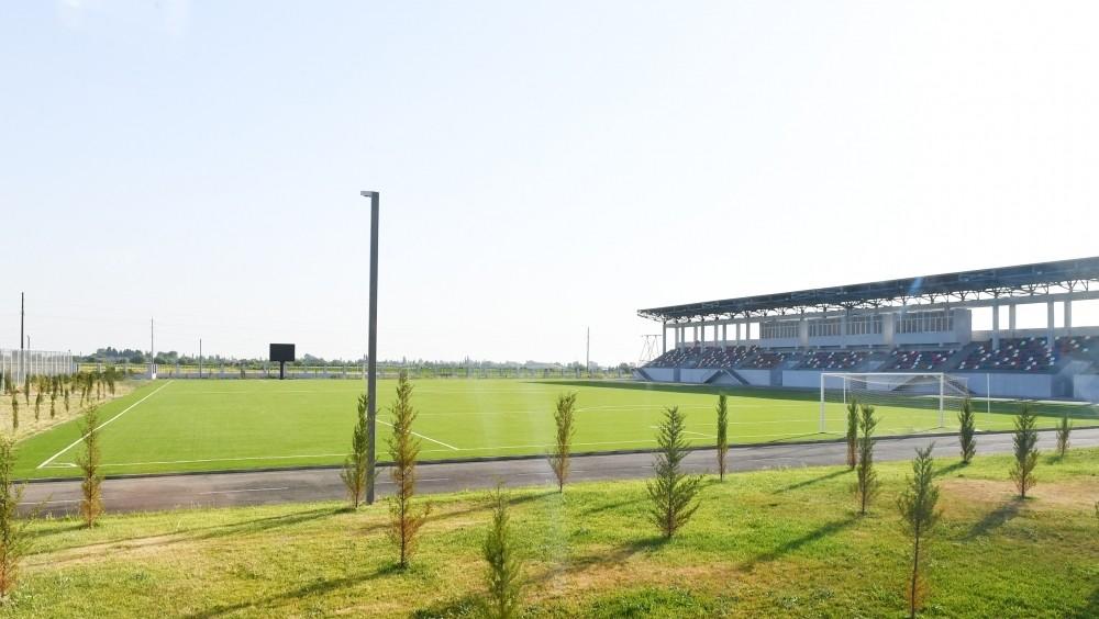 Azərbaycanda daha bir çoxprofilli olimpiya komleksi açıldı -