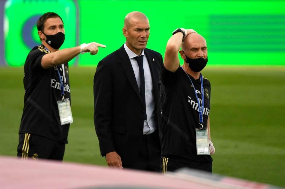 Zidan Madrid klubunun tarixinə düşdü