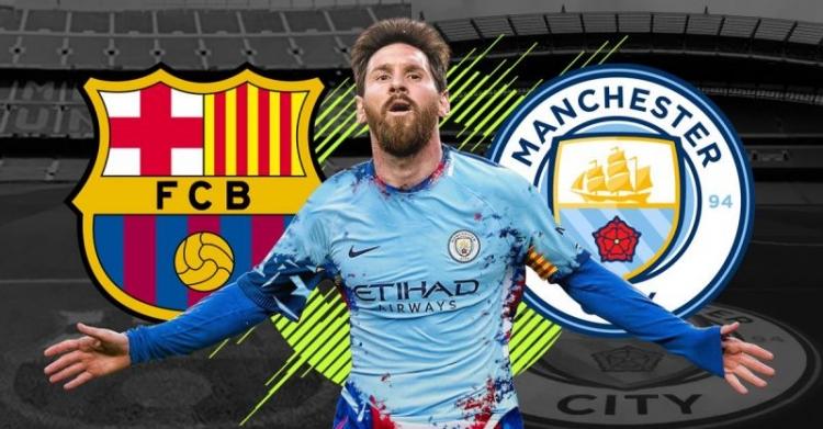 """Messi """"Barselona""""nı """"Mançester Siti""""yə dəyişir"""