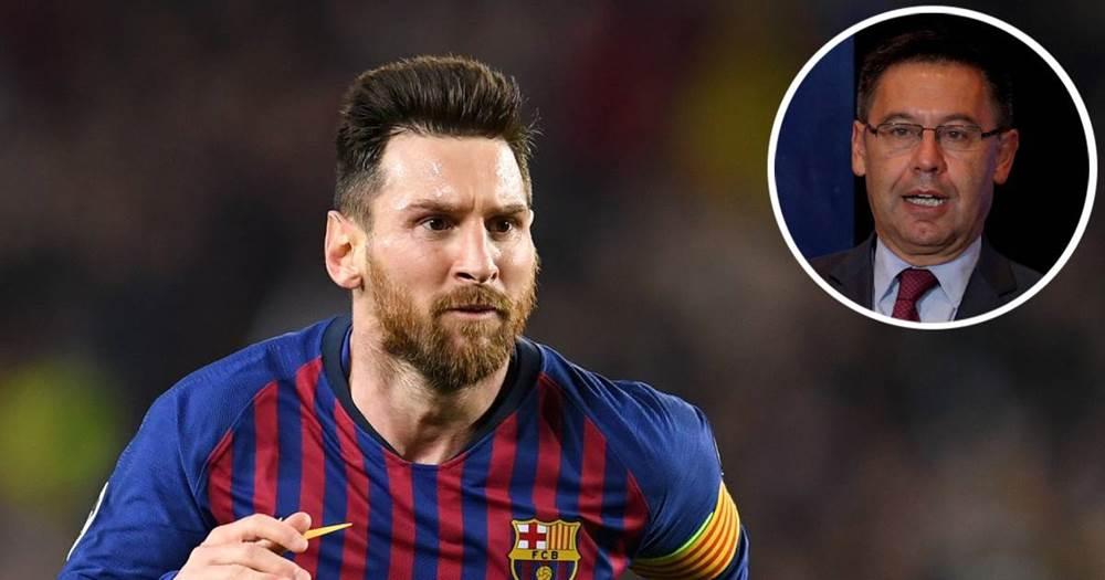 """Messi """"Barselona""""nın prezidentini dəyişdirmək istəyir"""