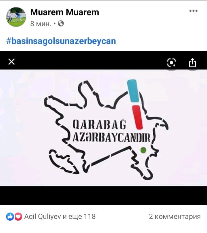 """Sabiq """"Qarabağ""""lı legioner: """"Qarabağ - Azərbaycandır!"""""""