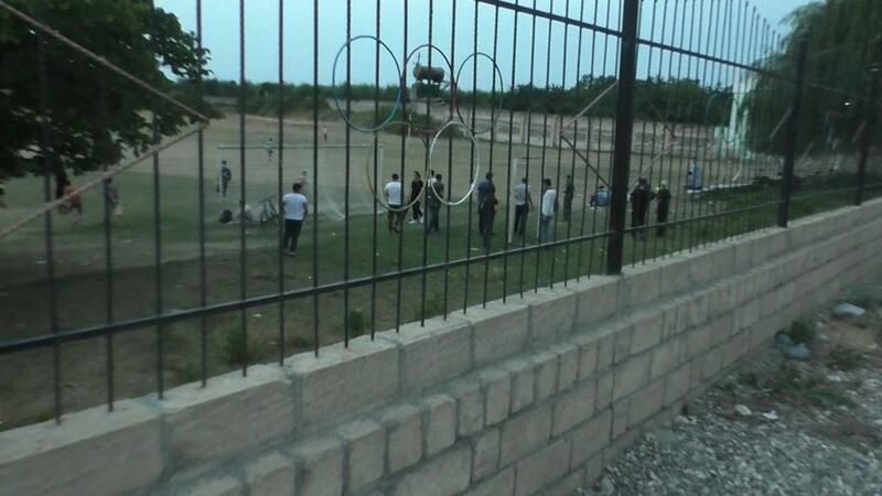Qubada futbol oynayan 25 nəfər saxlanıldı - FOTO