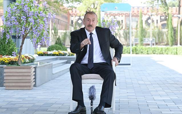 """İlham Əliyev: """"Ermənistanın hünəri varsa, tanısın """"Dağlıq Qarabağ respublikası""""nı"""""""
