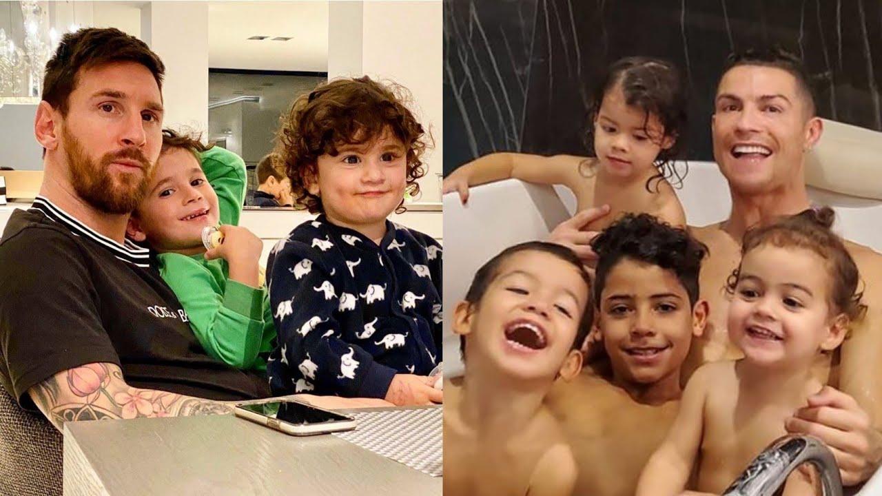 Messi, Ronaldo və digər ulduzların uşaqları - VİDEO