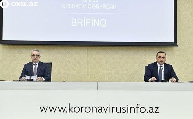 Operativ Qərargah təcili brifinq keçirir - CANLI YAYIM
