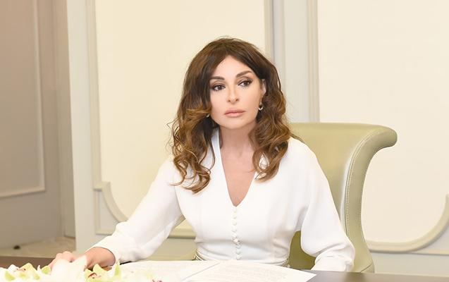 """""""Gəncə Azərbaycanın döyünən ürəyidir"""" - Mehriban Əliyeva"""