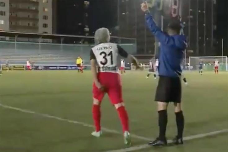 Monqol...  24 ildən sonra yenidən futbola qayıtdı - VİDEO