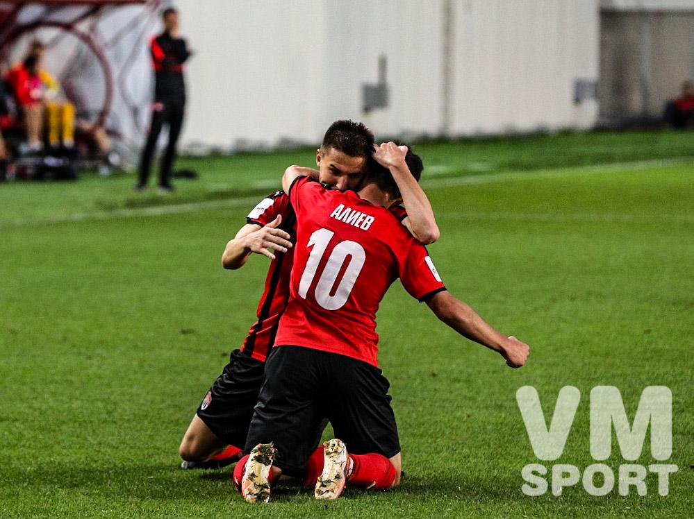 Azərbaycanlı futbolçunun ŞOK olduğu matç - VİDEO