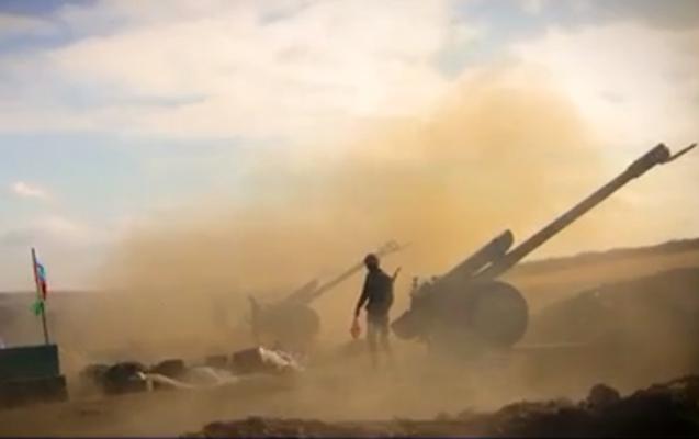 Artilleriya bölmələrimiz düşmənə sarsıdıcı zərbələr endirdi - VİDEO