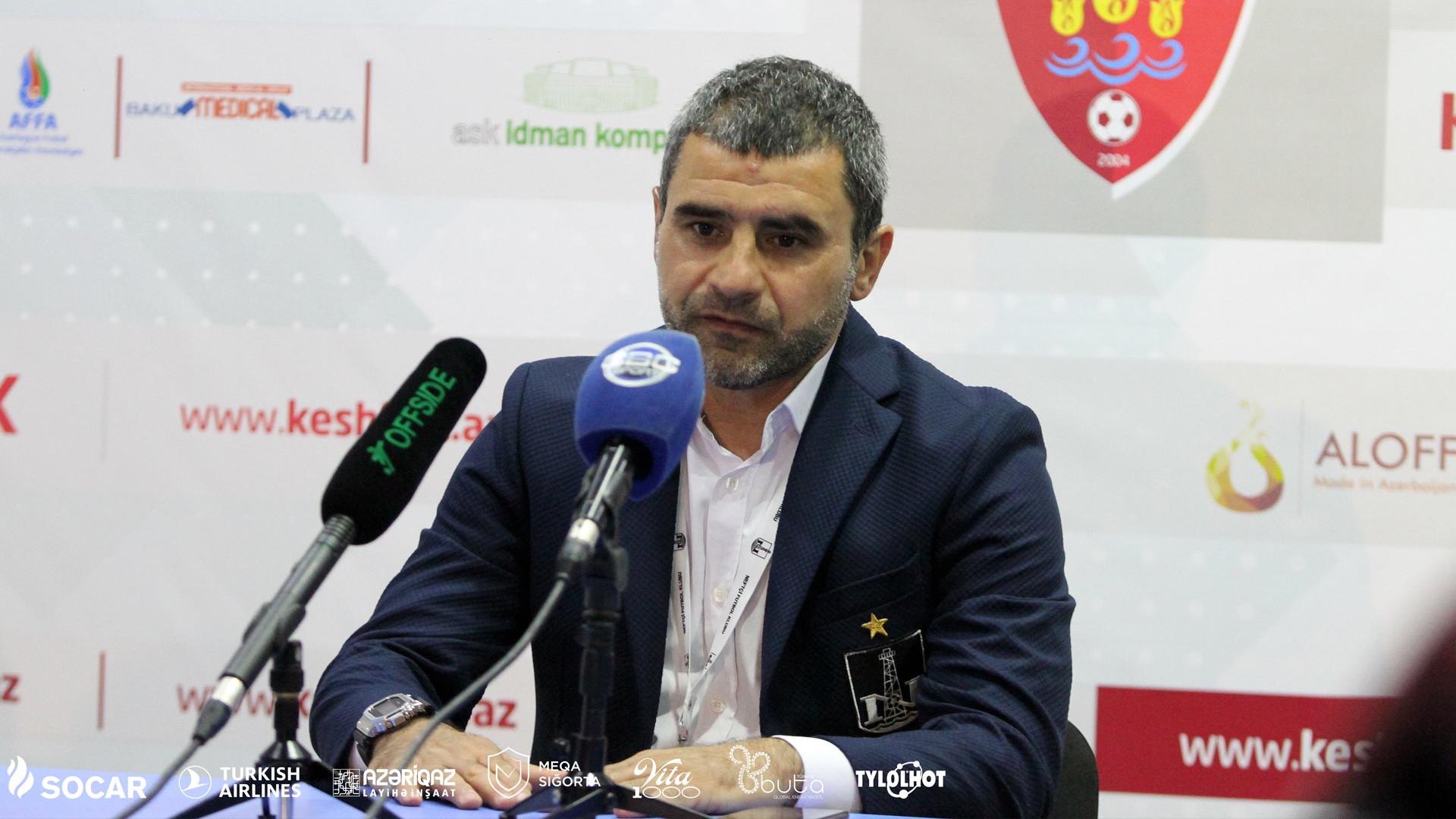 """""""Mən, azarkeşlər və hər kəs daha yaxşı """"Neftçi"""" istəyir"""""""