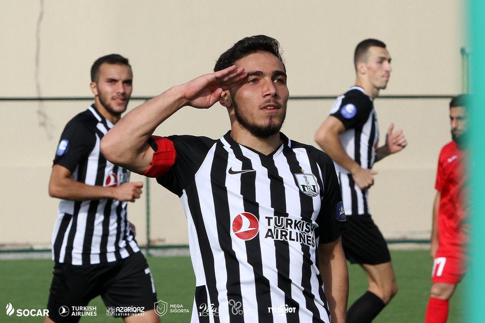 """Neftçi""li ordu klubuna qol vurdu, əsgər salamı verdi – VİDEO+FOTOLAR"