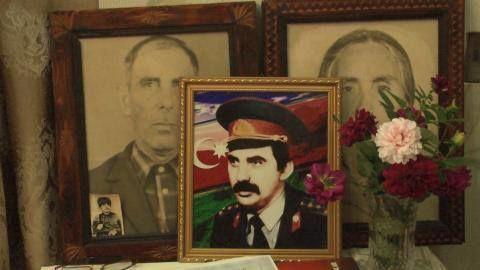 """Füzulidən olan şəhid ailəsi: """"Qurd kapitan""""ın qanı yerdə qalmadı - VİDEO"""